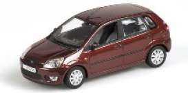 Minichamps - Ford  - mc400081101 : 2001 Ford Fiesta, metallic red