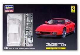 Hasegawa - Ferrari  - has20230 : 1989 Ferrari 348 TB, plastic modelkit.