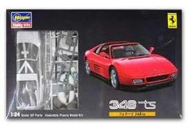 Hasegawa - Ferrari  - has20231 : 1989 Ferrari 348 TS, plastic modelkit.