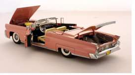 SunStar - Lincoln  - sun4702^1 : 1958 Lincoln Mark III Open Convertible *Platinum Collection*, rose