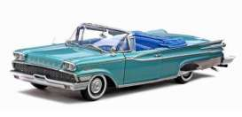 SunStar - Mercury  - sun5151 : 1959 Mercury Parklane open convertible, metallic turquoise