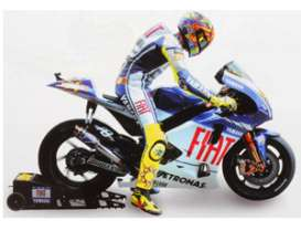 Minichamps - Figures  - mc312090046 : Figurine Valentino Rossi (with starbox, bike not included) MotoGP 2009