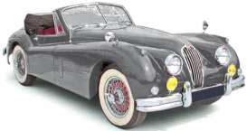Norev - Jaguar  - nor270032 : 1957 Jaguar XK140 Cabriolet, dark grey metallic
