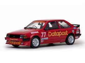 SunStar - Ford  - sun4964 : 1984 Ford Escort 1600i #77 *Datapost*, red
