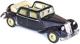 Norev - Citroen  - nor153022 : 1949 Citroen 15/6 decouvrable EDM, black