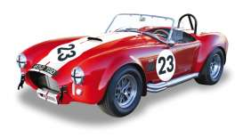 Solido - Shelby AC - soli118022 : 1965 Shelby AC Cobra 427 #23, red