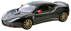 Motor Max - Lotus  - mmax73770bk : 2012 Lotus Evora , special F1 Edition in black with gold.