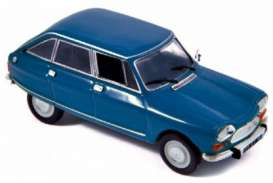 Norev - Citroen  - nor153536 : 1969 Citroen Ami 8, blue