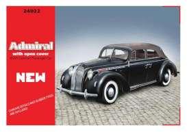 ICM - Opel  - icm24022 : Opel Admiral with open cover, plastic modelkit
