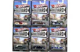 Hotwheels - Assortment/ Mix  - hwmvX3091-999G : Hotwheels 1/64 Boulevard assortment 2012 G. Assortment of 16.