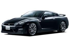 Aoshima - Mitsubishi  - abk108065 : 2012 Nissan GT-R (R35) Pure Edition Pre-Painted, plastic modelkit