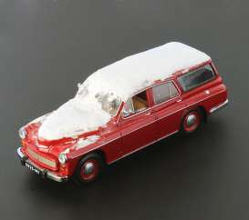 Ixo Ist Collection - Warszawa  - ixist186LE : 1960 Warszawa 203 Kombi Limited edition Snow coevered