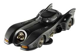 Hotwheels Elite - Batman  - hwmvBLY24 : 1989 Batmobile from the movie Batman Returns with M.Keaton as Batman.