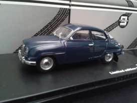 Triple9 Collection - Saab  - T9-43042 : 1964 Saab 96, dark blue with light grey interior.