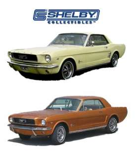 Shelby Collectibles - Ford  - shelby181 : 1966 Ford Mustang Coupe, brown