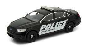 Welly - Ford  - welly24045 : 2013 Ford Police Interceptor, black/white
