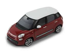 Welly - Fiat  - welly24038r : 2013 Fiat 500L, red
