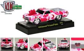 M2 Machines - Chevrolet  - M2-81161WC03pk : *Ground Pounders Wild Cards WC03* 1970 Chevrolet El Camino SS454, pink