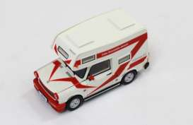 Ixo Ist Collection - Trabant  - ixist189 : 1980 Trabant 601 Wohnmobil, white/red