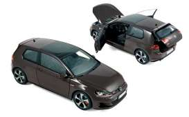 Norev - Volkswagen  - nor188518 : 2013 Volkswagen Golf GTI, carbon steel grey