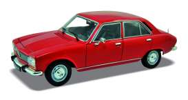 Welly - Peugeot  - welly18001r : 1974 Peugeot 504, red