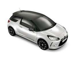 Norev - Citroen  - nor155296 : 2014 Citroen DS3, white/moondust