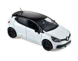 Norev - Renault  - nor517596 : 2014 Renault Clio RS Monaco GP, white with black roof
