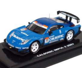 Kyosho - Nissan  - kyo6581D^1 : 2007 Nissan 350Z Calsonic Impul #12, blue
