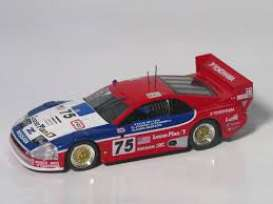 Kyosho - Nissan  - kyo6461A^1 : 1994 Nissan 300ZX Turbo GTS #75, red/blue/white