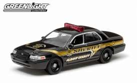 GreenLight - Ford  - gl29800D : 2008 Ford Crown Victoria Police Interceptor *Albany County New York Sheriff,*