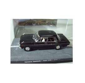 Magazine Models - Toyota  - magJBToyotaCrown : Toyota Crown S40 James Bond *You Only Live Twice*, black