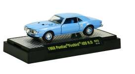 M2 Machines - Pontiac  - M2-32600-25-2 : Detroit Muscle Cars release 25; 1968 Pontiac Firebird 400 H.O  - Alpine Blue Metallic