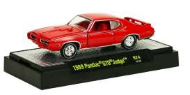 M2 Machines - Pontiac  - M2-32600-24-1 : *Detroit Muscle Cars release 24*; 1969 Pontiac GTO Judge, matador red