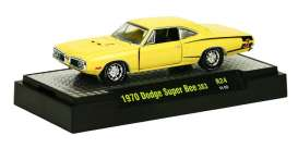 M2 Machines - Dodge  - M2-32600-24-2 : 1970 Dodge Super Bee 383 *Detroit Muscle Cars release 24*, Banana (Yellow)