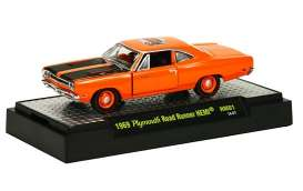 M2 Machines - Plymouth  - M2-31600HM01-5 : 50 Years 426 HEMI release HM01; 1969 Plymouth Road Runner HEMI - Hemi Orange
