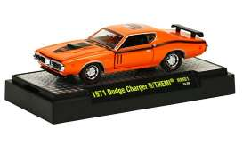 M2 Machines - Dodge  - M2-31600HM01-6 : 50 Years 426 HEMI release HM01; 1971 Dodge Charger R/T HEMI - HEMI Orange