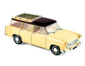 Norev - Simca  - nor574055 : 1957 Simca Vedette Marley, yellow/black