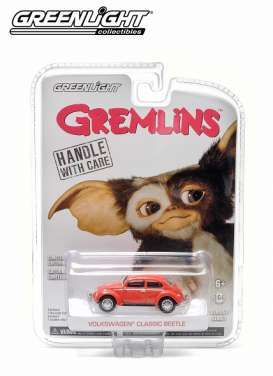 GreenLight - Volkswagen  - gl44694 : 1967 Volkswagen Beetle *Gremlins 1984*, red