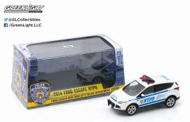 GreenLight - Ford  - gl86070 : 2014 Ford Escape NYPD Police vehicle.