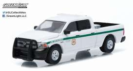 GreenLight - Dodge  - gl29813 : 2014 Dodge Ram 1500 United States Forest Services Police (USFS)