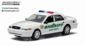 GreenLight - Ford  - gl29810F : 2010 Ford Crown Victoria Police Interceptor Blount County *Country Roads series 13*