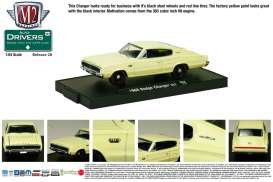 M2 Machines - Dodge  - M2-11228-28-1 : *M2-Drivers release 28*; 1966 Dodge Charger 383, yellow