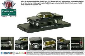 M2 Machines - Chevrolet  - M2-11228-28-3 : *M2-Drivers release 28*; 1967 Chevrolet Nova SS, black w/Semi Gloss Vinyl Top