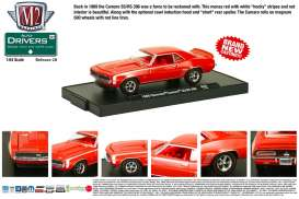 M2 Machines - Chevrolet  - M2-11228-28-5 : *M2-Drivers release 28*; 1969 Chevrolet Camaro SS/RS 396, monza red w/white SS stripes