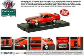 M2 Machines - Chevrolet  - M2-11228-28-6 : *M2-Drivers release 28*; 1969 Chevrolet Camaro Z-28 RS, monza red w/black Z-28 stripes