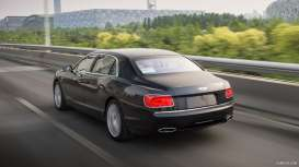 Kyosho - Bentley  - kyo8892bl2 : 2012 Bentley Flying Spur W12, pale sapphire over dark sapphire