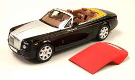 Kyosho - Rolls Royce  - kyo8871dbk : Rolls Royce Phantom Drophead Coupe, diamond black