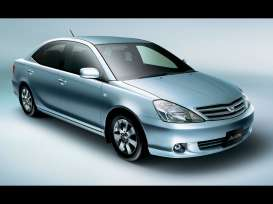 Kyosho - Toyota  - kyo3635g : Toyota Allion (early), turquoise maica
