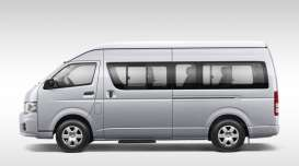 Kyosho - Toyota  - kyo3652s : Toyota HiAce High Roof, silver