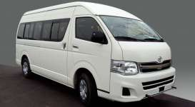 Kyosho - Toyota  - kyo3652w : Toyota HiAce High Roof, white
